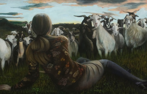 Picture picture, Norwegian artist, Christer Karlstad, Outlying Realms