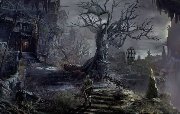 Photo wallpaper Dark Souls 3, Dark Souls, Dark Souls III