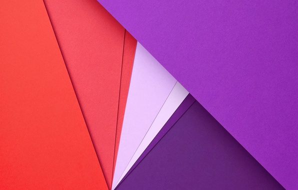 Picture Red, Circles, Design, Lines, Lollipop, Lilac, Material, Android 5.0, Triangles, Angles