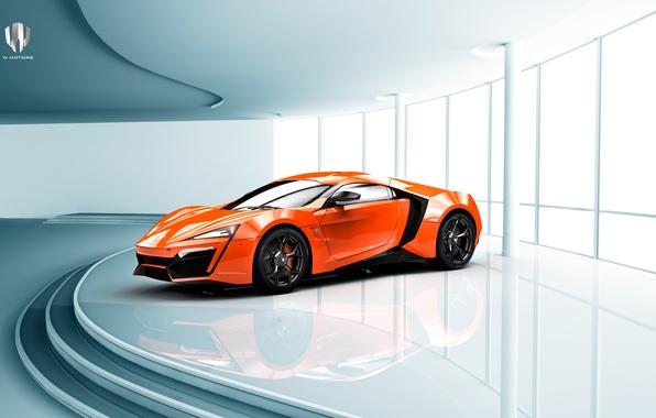 Picture orange, pavilion, HyperSport, W-Motors, Lykan