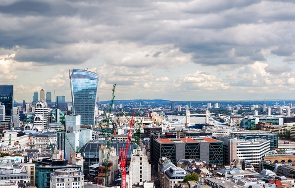 Picture England, London, building, panorama, UK, London, England, United Kingdom