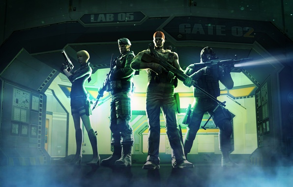 Photo wallpaper weapons, Cross fire, store, Thunder Vault, characters, CrossFire, fighters