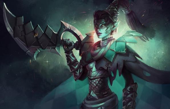 Picture game, dota 2, mortred, Phantom Assassin