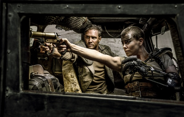 Picture Charlize Theron, Charlize Theron, Tom Hardy, Tom Hardy, Mad Max, Fury Road, Mad Max, Road …