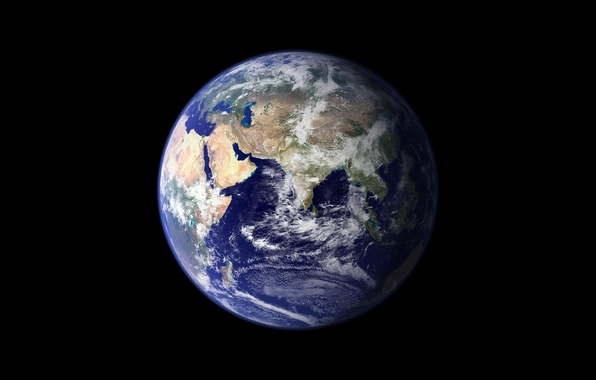 Picture space, earth, landscapes, view, planet, the globe