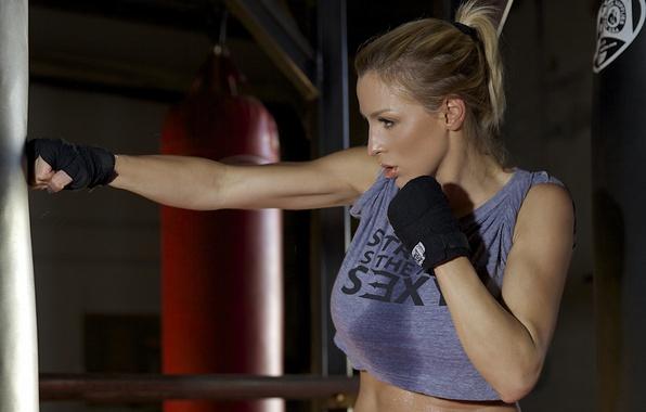 Photo wallpaper fitness, boxeo, workout, Jordan carver
