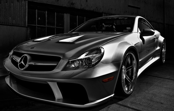 Picture Mercedes-Benz, Roadster, car, AMG, sports, SL-class