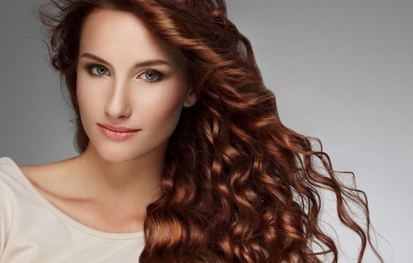 Picture Beauty, Fashion, White Shirt, Curly Hair, Beautiful Woman