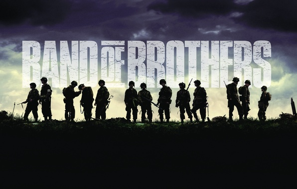 Picture The series, Band of Brothers, Brothers in arms