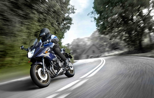 Picture speed, motorcycle, Yamaha