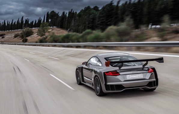 Picture road, car, auto, Concept, Audi, speed, speed, TT, Clubsport Turbo