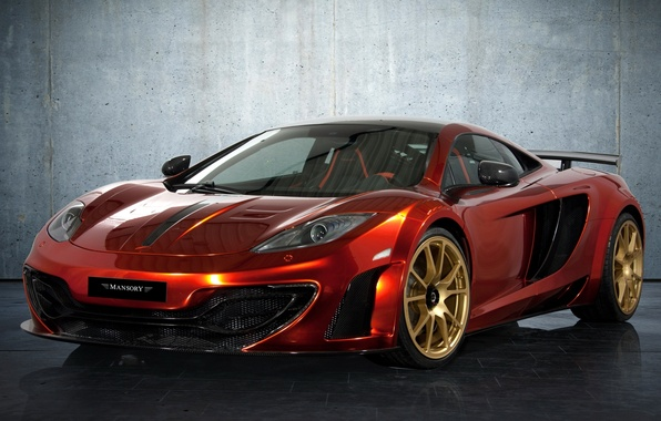 Picture wall, tuning, supercar, mansory, tuning, the front, mclaren, McLaren, MP4-12C, mp4-12c