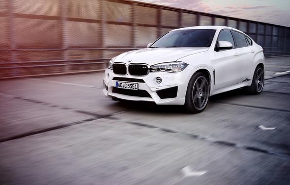 Picture White, BMW, Tuning, AC Schnitzer, X6 M