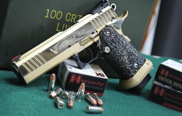Wallpaper gun, cartridges, semi-automatic, Coonan, 357 Magnum images