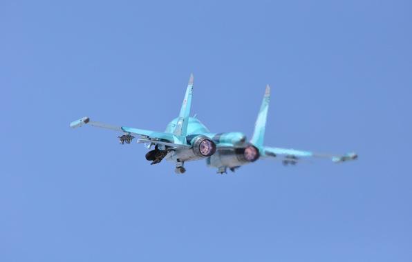 Picture bomber, the rise, defender, frontline, Fullback, Su 34