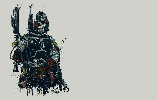 Photo Wallpaper Mandalorian Boba Fett Sake Star Wars Bounty Hunter