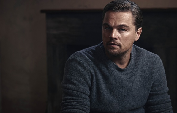 Picture actor, photoshoot, Leonardo DiCaprio, Leonardo DiCaprio, for the film, Survivors, The Revenant