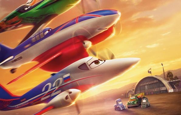 Picture cartoon, wings, Bulldog, adventure, rally, wings, Walt Disney, animation, action, Walt Disney, adventure, Bulldog, Tanya, …