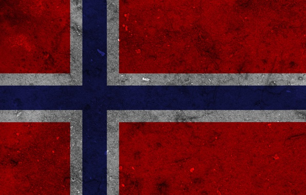 Picture flag, Norway, Texture, Norway