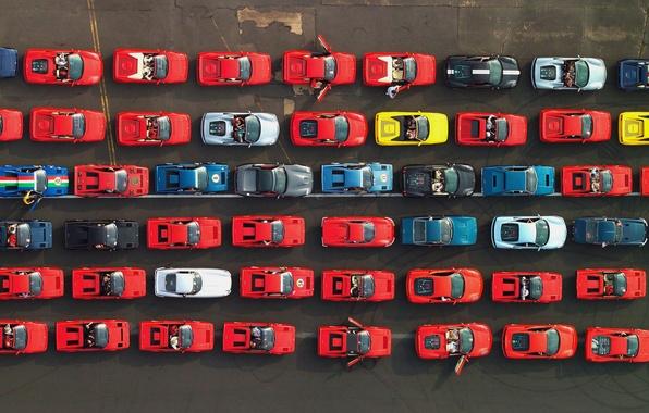 Picture Machine, F430, Ferrari, The view from the top, A lot, 599 GTO, Supercar, California, Daytona, …