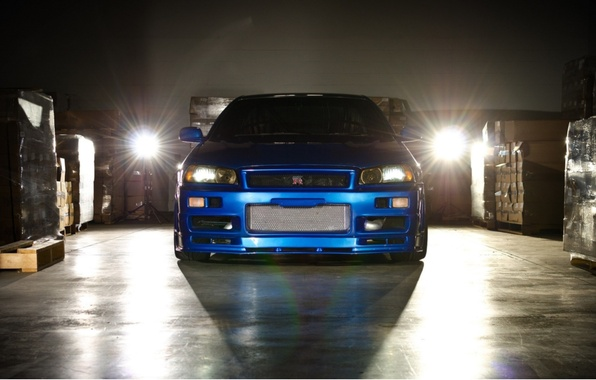 Picture machine, Nissan, skyline, Nissan, gt-r, r34, the fast and the furious 4, fast and furious, …