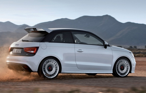 Picture the sky, mountains, audi A1