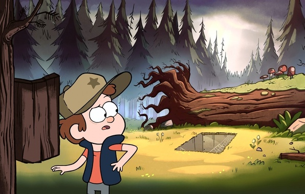 Picture Forest, Gravity Falls, Gravity Falls, Dipper