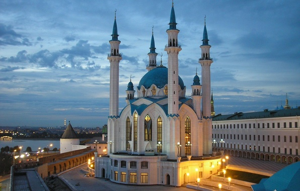 Picture mosque, Kazan, Tatarstan, Kul Sharif