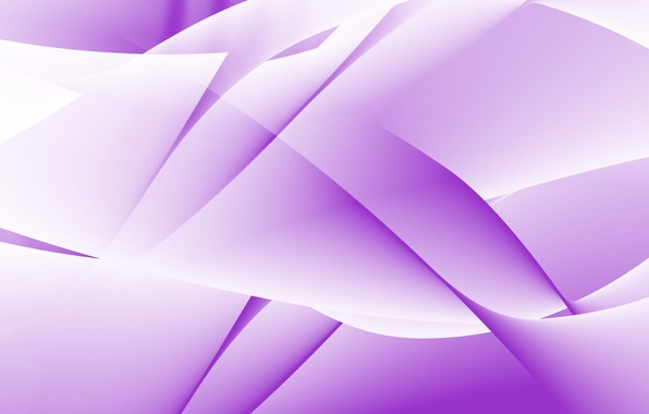 Picture White, Purple, Abstraction
