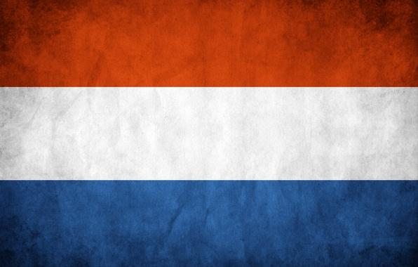 Picture flag, Netherlands, Holland