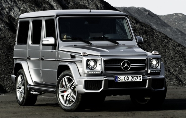 Picture mountains, Mercedes-Benz, jeep, SUV, Mercedes, AMG, the front, g, Gelandewagen, G63