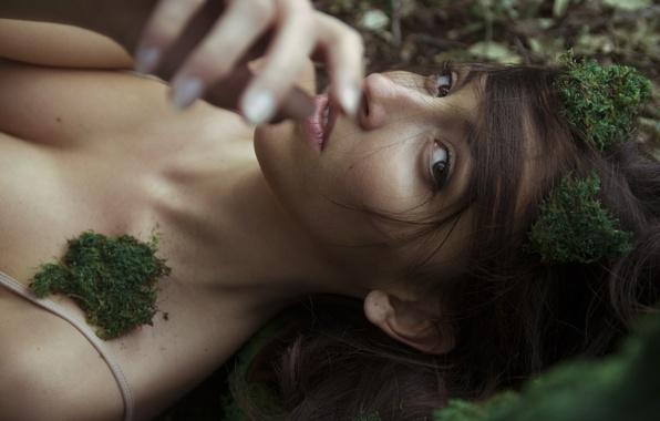 фото девушек с мох