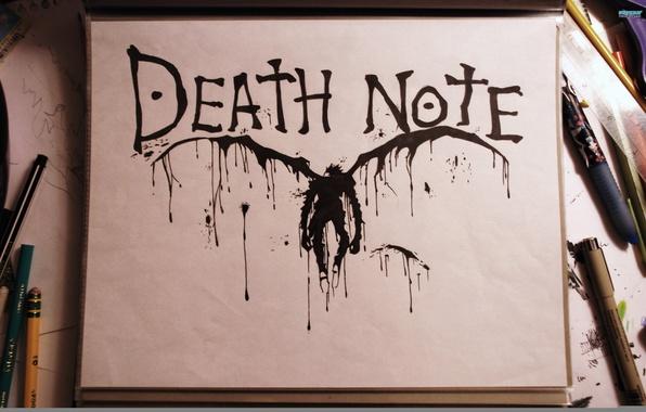 Picture macro, blot, death note, Ryuk, Death-Note