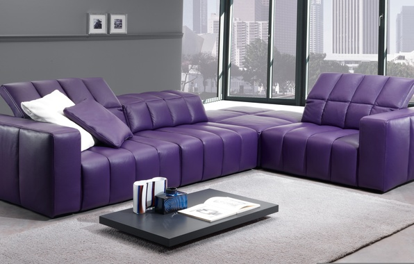 Picture design, the city, style, interior, hall, living room, city apartment, modular furniture