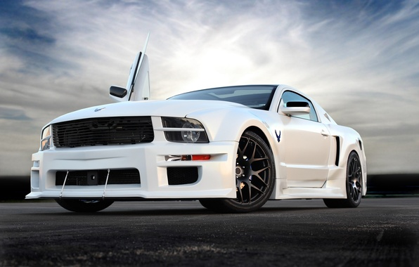 Picture mustang, ford, muscle car, custom