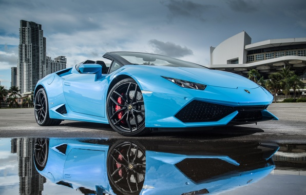 Photo wallpaper LP 610-4, Huracan, Lamborghini, Lamborghini, hurakan