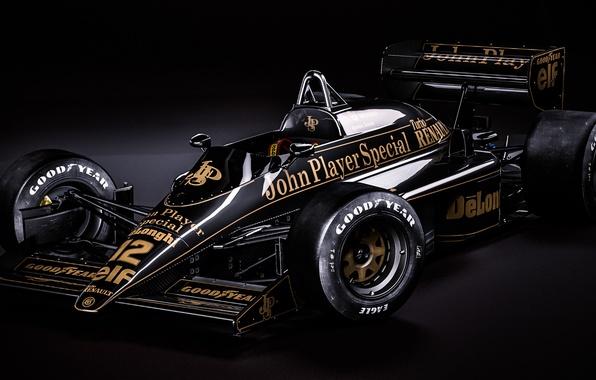 Picture the car, formula 1, rendering, Ayrton Senna, Lotus 98T