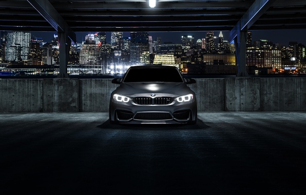Picture BMW, Carbon, Front, Black, Matte, Nigth, F80, Mode
