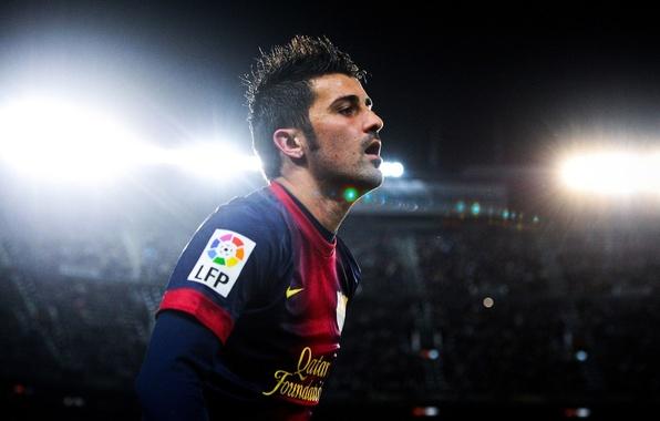 Picture Sport, Football, Barcelona, Football, Barcelona, David Villa, David Villa, Camp Nou, Camp Nou