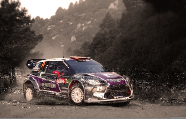 Picture Auto, Sport, Machine, Turn, Citroen, DS3, WRC, Rally, Rally