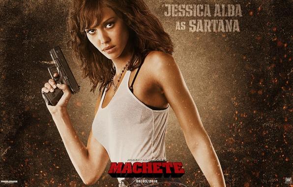 Picture Jessica Alba, machete, machete