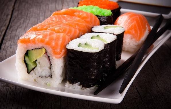 Picture sticks, rolls, sushi, sushi, rolls, Japanese cuisine, sticks, Japanese cuisine