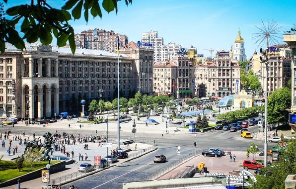 Picture area, Ukraine, capital, Kiev, Independence