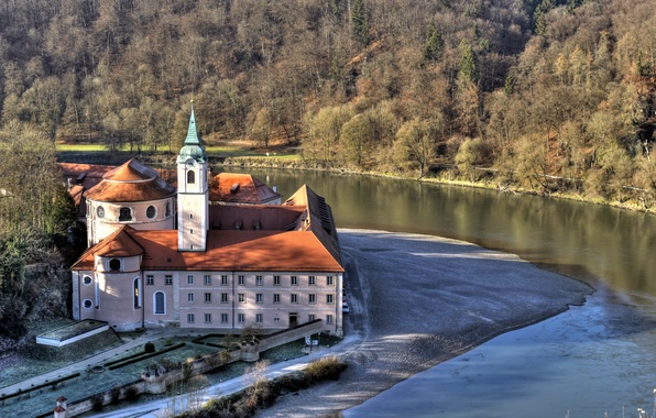 Picture the city, photo, Germany, Bayern, Cathedral, temple, the monastery
