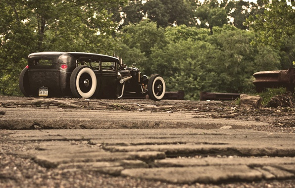 Picture ford, Ford, rat, rod, model a
