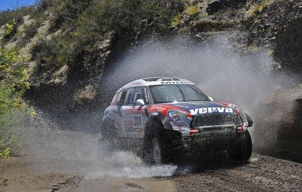 Picture Squirt, Mini Cooper, Rally, Dakar, Dakar, MINI, Mini Cooper