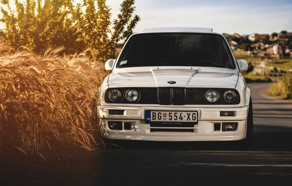 Picture bmw, white, e30, 325