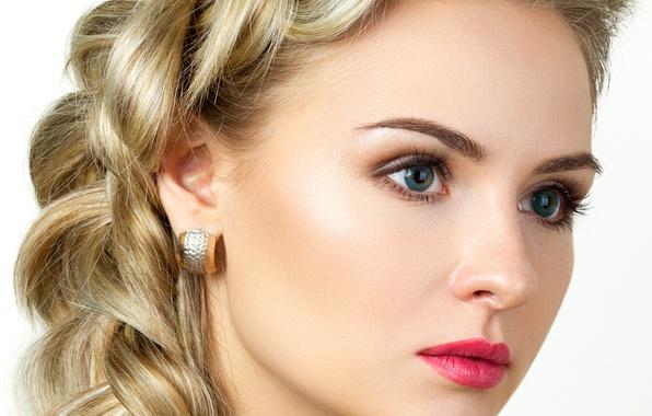 earrings girl hair makeup - photo #6