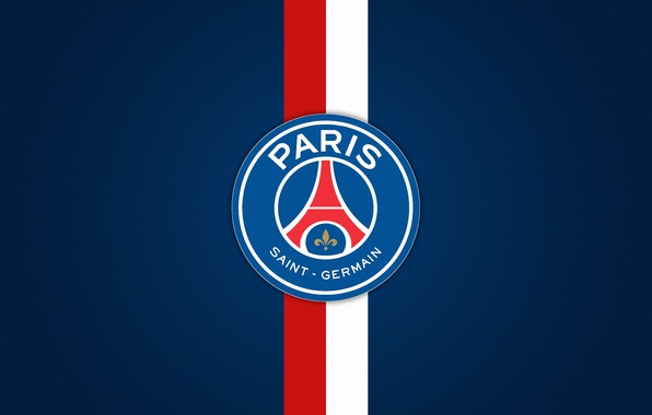 Picture wallpaper, sport, logo, football, Paris Saint-Germain
