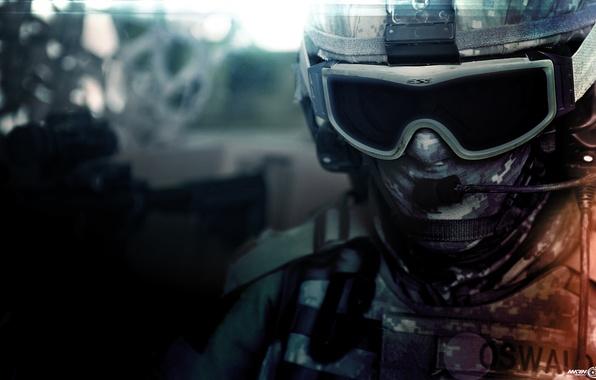 Picture battlefield, game, soldier, war, bf3